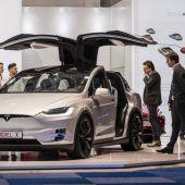 Elektroauto-Pionier Tesla feiert Rekord
