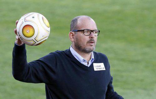 Schon gegen St. Pölten erwartet SCRA-Trainer Martin Scherb ein Ende der Torsperre und dementsprechend drei Punkte. Foto: apa