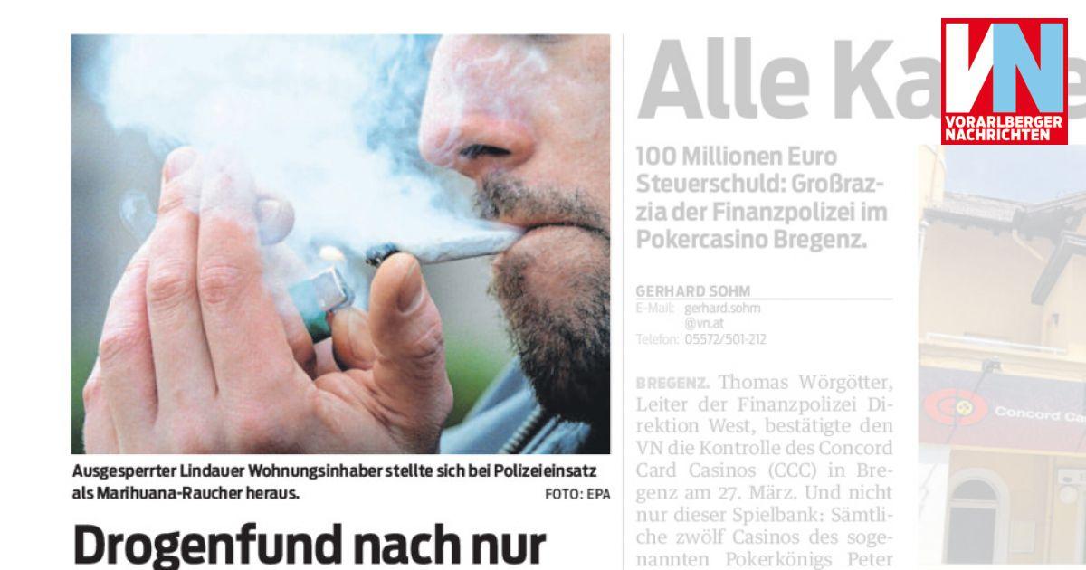 Nachrichten Drogenfund