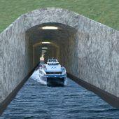 Norwegen plant ersten Schiffstunnel weltweit