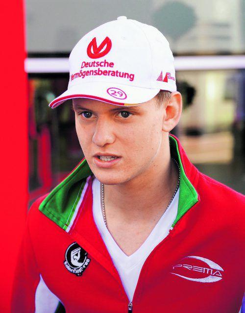 Steigt in die Formel 3 ein: Mick Schumacher  Foto: apa