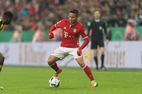 Thiago (26) steht vor einer Vertragsverlängerung bis 2021. gepa
