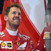 Vettel war ultraschnell auf Ultrasoft