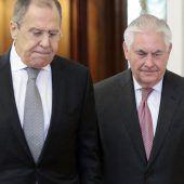 Tillersons Besuch in Moskau als Drahtseilakt