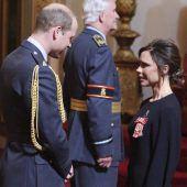 Beckham mit Orden geehrt