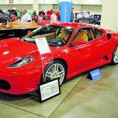 Trumps Ferrari versteigert