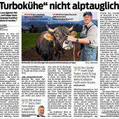 Respekt für Bauer Reinhard Bär