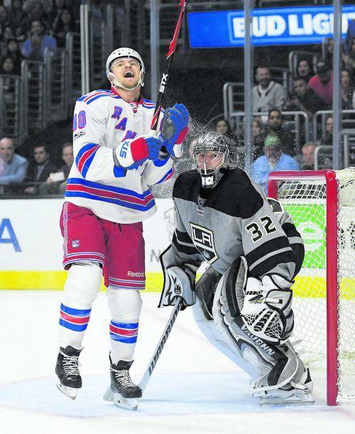 Von Michael Grabner sind im Play-off Tore gefragt. Im Duell mit Montreal wird es aber für die New Yorker schwer.  Foto: ap