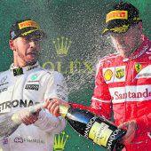 Vettel und Hamilton heiß auf China