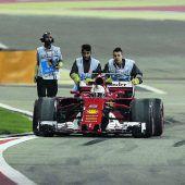 Vettel schnell, aber nicht sorgenfrei