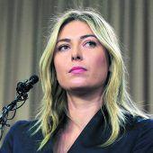 Scharapowa mit wenig Hoffnung auf Paris-Start