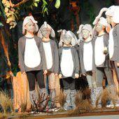 Schüler-Urwald-Musical begeisterte Zuschauer