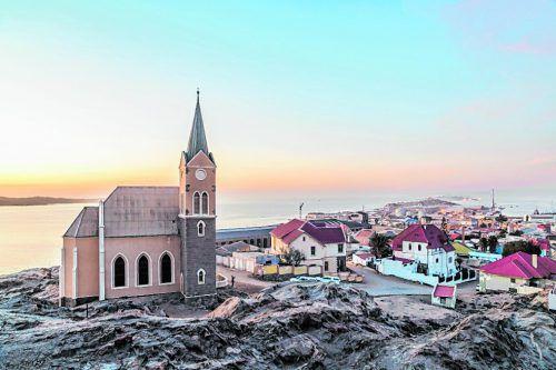 1883 wurde Lüderitz als erste deutsche Stadt in Namibia gegründet.