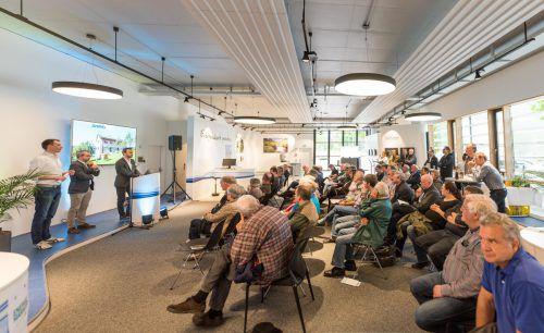 80 Interessierte besuchten die Info-Veranstaltung von Stromify in Bregenz.  Foto: Dietmar Stiplovsek