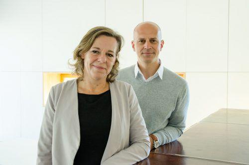 Angelika Vonbank und Christian Zver zeichnen ab Juni verantwortlich für die Dachmarke. Foto: patrick säly photography