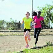 Wenn die Sonne aufgeht, wird in Kenia gelaufen