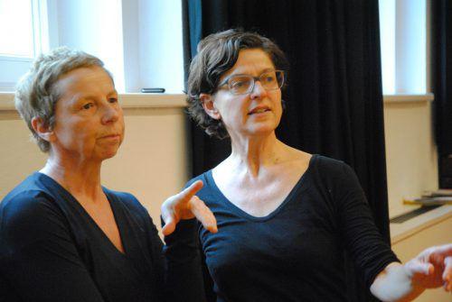 Anne Thaeter und Brigitte Walk vom walktanztheater.com.