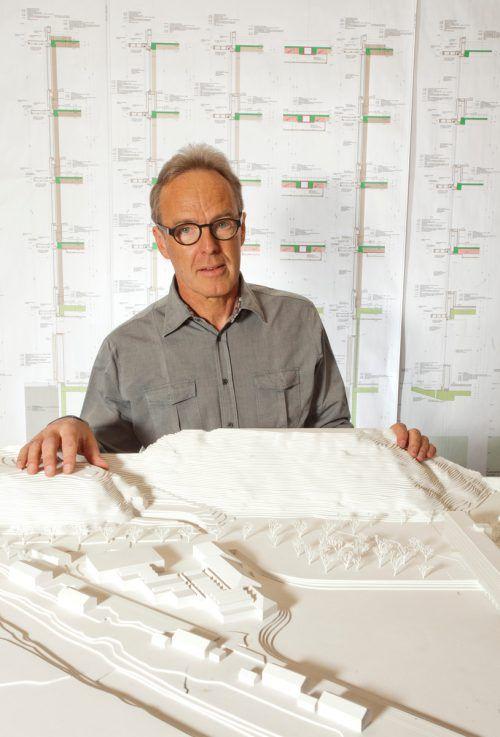 Architekt aus Leidenschaft: Hermann Kaufmann. Foto:Vn/kh