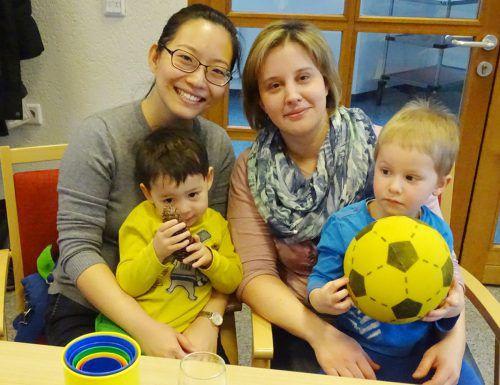 Auch Frauen mit Kindern sind beim Frauenfrühstück willkommen Foto: the