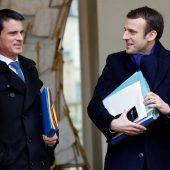 Ex-Premier will zu Macron