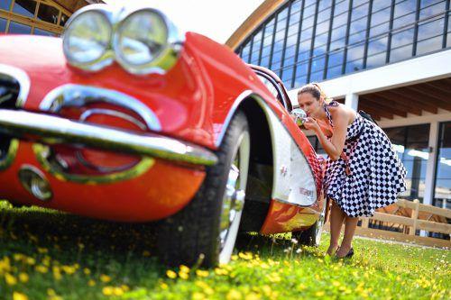 Automobile Schönheiten stehen ab heute bei der 10. Klassikwelt Bodensee wieder im Fokus. Foto: Messe FN