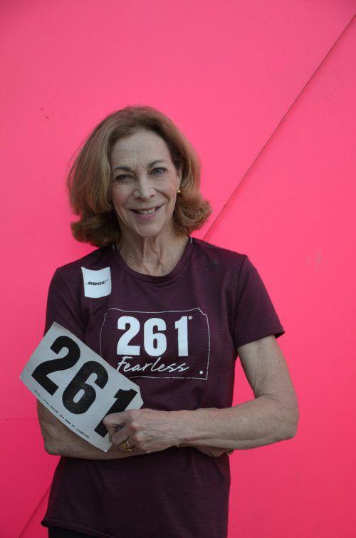 Beim Boston-Marathon trug Kathrine Switzer die Startnummer 261. Heute ist eine Bewegung daraus geworden. Foto: veranstalter