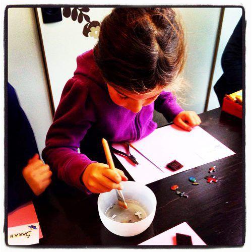 Beim Frühlingsprogramm können die Kinder tolle Aktivitäten erleben.