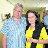"<p class=""caption"">Besucher-Duo: Grafiker Bertram Frei und Hermi.</p>"