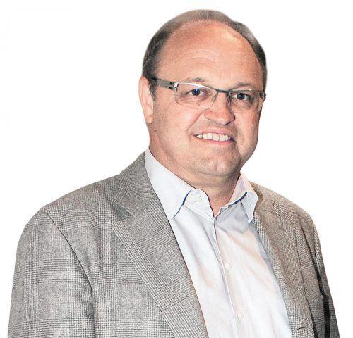 Bürgermeister Elmar Rhomberg (52).