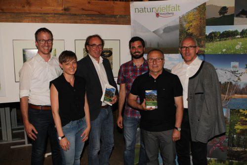 Christian Gantner, Anna Engstler, Johannes Rauch, Christian Kuehs, Eugen Hartmann und Martin Netzer (v. l.). Fotos: ame