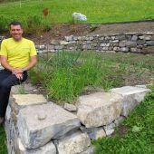 Steine sorgen für Vielfalt im Garten