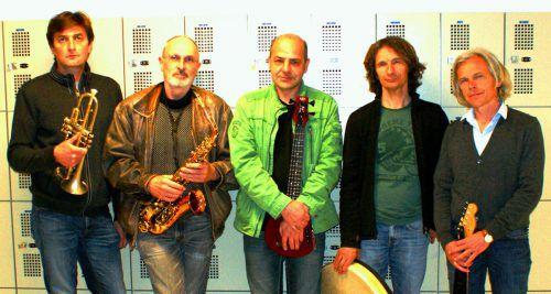 Das Bludenzer Kammerensemble Clarkwell Quintett verknüpft ziemlich freien Jazz, Pop-Rock und Zeitgenössisches. FOTO: Clarkwell quintett/Thomas Heel