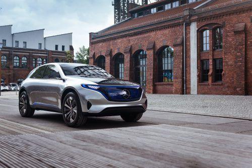 """Das """"Concept EQ"""" ist die Basis für die neue Generation von Elektroautos von Mercedes-Benz. Foto: Werk"""