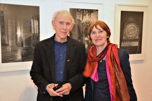 Das Künstlerpaar Franz und Helga Gassner.  Fotos: etu