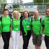 """<p class=""""caption"""">Das Organisationsteam des """"Lauftreff Leiblachtal"""" freute sich über den erfolgreichen 4. Charity-Lauf-Event.</p>"""