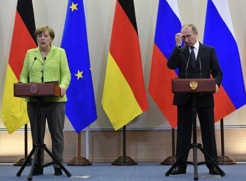 Das Verhältnis zwischen Deutschland und Russland bleibt angespannt.  Foto: AFP