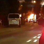 Fahrzeug wird in Hard zum Raub der Flammen