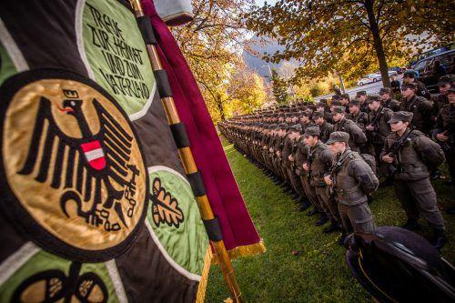 Derzeit absolvieren nur 39 Prozent der Vorarlberger Rekruten ihren Grundwehrdienst im Land. Das soll sich ändern. VN/Steurer