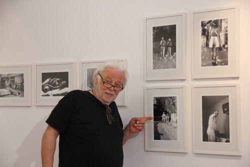 """""""Dem Reinen ist alles rein"""", erklärt der Fotokünstler. Foto: Nikolaus Walter"""