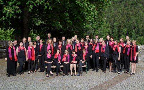 Der Bregenzer Kammerchor lädt anlässlich seines 30-jährigen Bestehens zum Jubiläumskonzert Wolfurt ein.               foto: bregenzer kammerchor