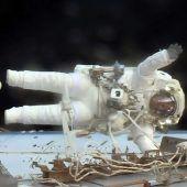 Außeneinsatz nach Computerpanne auf ISS