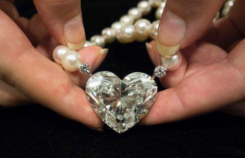 Der Diamant wechselte für knapp 15 Mill. Dollar den Besitzer. AFP