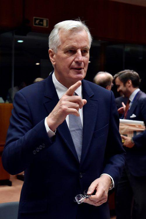 Der Franzose Michel Barnier verhandelt für die EU. Foto: reuters