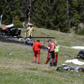Hubschrauberunglück in Tirol: Zwei Tote