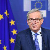 Juncker warnt Türkei vor der Todesstrafe