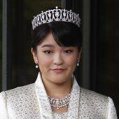 Prinzessin Mako heiratet Prinzen des Meeres