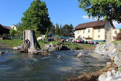 Der Mühlbach in Rankweil wurde auf 110 Metern naturnah gestaltet.  Foto: He