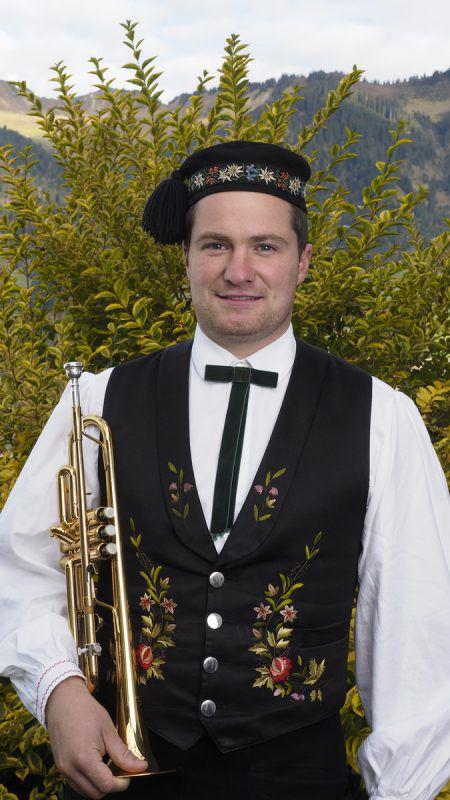 Der Raggaler Markus Gassner ist seit gut einem Jahr Obmann des Musikvereins Fraßenecho Raggal. Foto: Privat