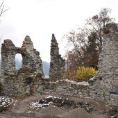 Wichtige Funde rund um Ruine