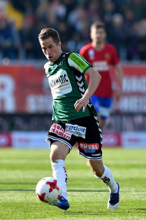 Der Rieder Stefan Nutz spielt nächste Saison für Altach. Gepa